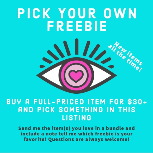 Freebies! With $30+ Full-Price Purchase